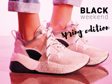 Black weekend - spring edition